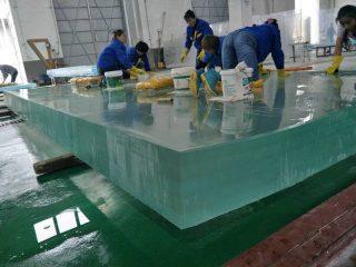 50mm 40mm tjock plexi glasplåt akryl