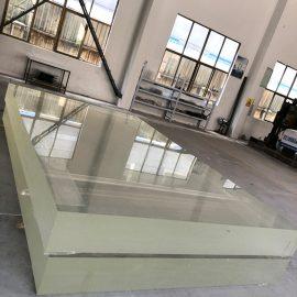 kristall akrylplatta platt plast tjockt ark