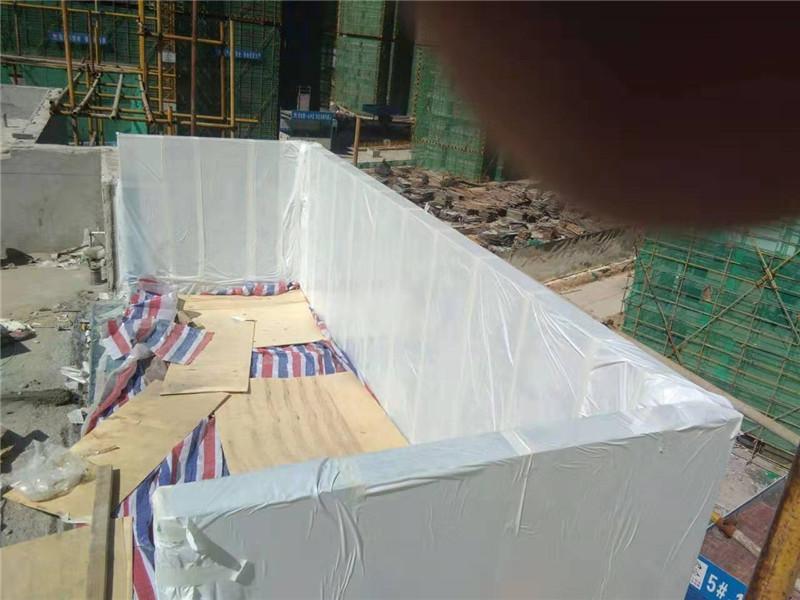 90mm anpassad akryl täcka pool