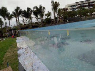 skräddarsydda utomhus akryl pool paneler